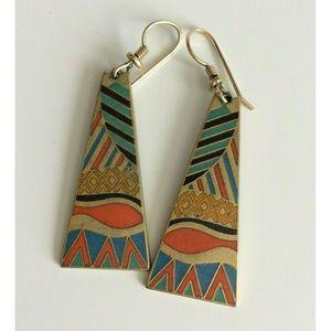 Laurel Burch Women's Earrings Matte Gold Tone